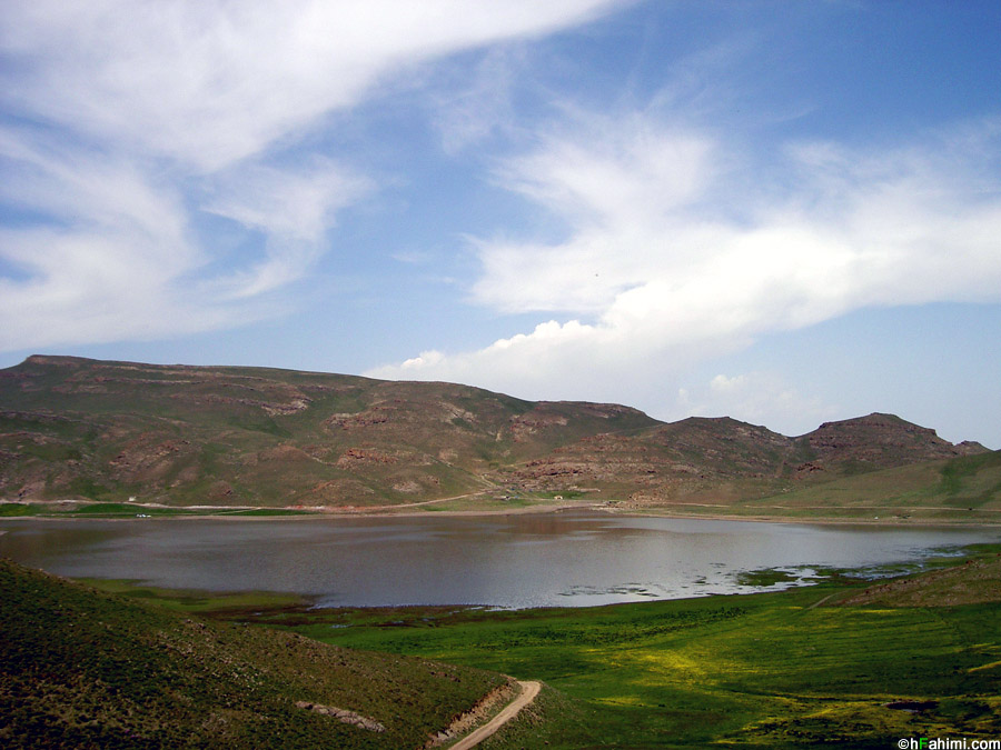 Neour lake, around Ardabil, Iran